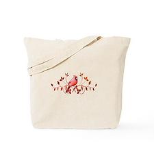 Graceful Cardinal Tote Bag