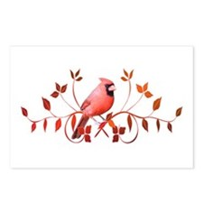 Graceful Cardinal Postcards (Package of 8)