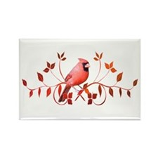 Graceful Cardinal Rectangle Magnet