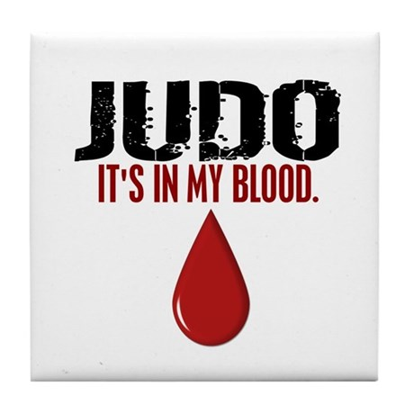 In My Blood (Judo) Tile Coaster