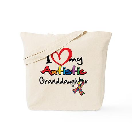 My Autistic Granddaughter Tote Bag