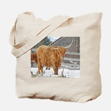 Highland Cattle Tote Bag