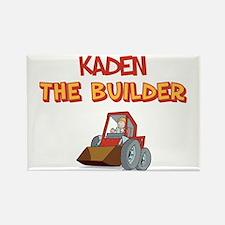 Kaden the Builder Rectangle Magnet