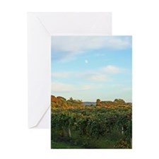 Winery Vineyard Greeting Card