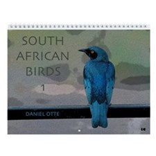 South African Birds Wall Calendar