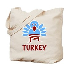 Obama Turkey Tote Bag