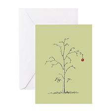 Arboretum Tree Holiday Greeting Card
