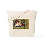 Victorian Christmas Tote Bag