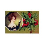 Victorian Christmas Rectangle Magnet (10 pack)
