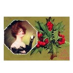 Victorian Christmas Postcards (Package of 8)