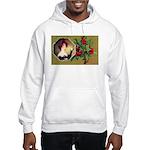 Victorian Christmas Hooded Sweatshirt