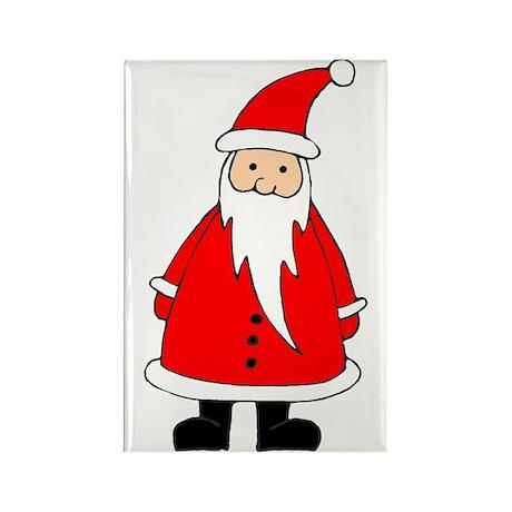 Santa Claus Illustration Rectangle Magnet