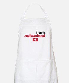 I Am Switzerland BBQ Apron