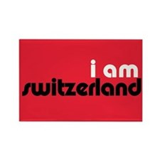 I Am Switzerland Rectangle Magnet
