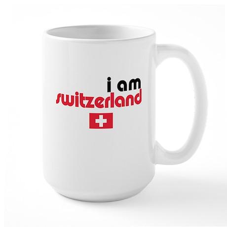 I Am Switzerland Large Mug