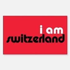I Am Switzerland Rectangle Bumper Stickers