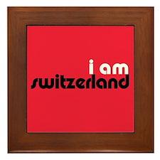 I Am Switzerland Framed Tile