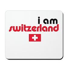 I Am Switzerland Mousepad