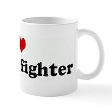 I Love my cage fighter Mug