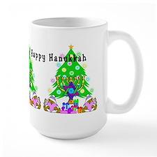 Christmas and Hanukkah Coffee Mug