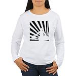 Women's Jr. Jersey Front Logo T-Shirt