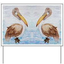 Brown PelicansYard Sign