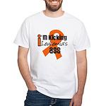 KickingLeukemiaAss White T-Shirt