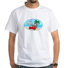 Hawaiian Christmas Santa Shirt