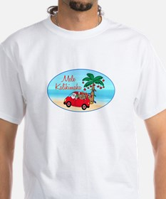Hawaiian Christmas Santa Shirt