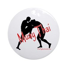 Muay Thai Ornament (Round)