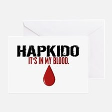 In My Blood (Hapkido) Greeting Card