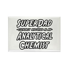 """SuperDad Analytical Chemist"" Rectangle Magnet"