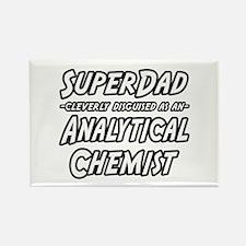 """SuperDad Analytical Chemist"" Rectangle Magnet"
