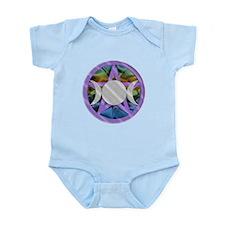 Triple Goddess Pentagram Infant Bodysuit