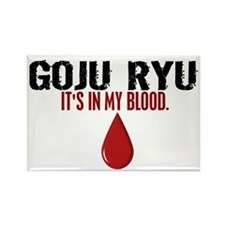 In My Blood (Goju Ryu) Rectangle Magnet