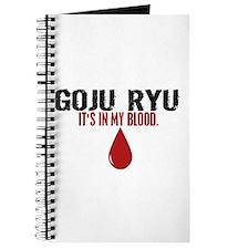 In My Blood (Goju Ryu) Journal