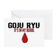 In My Blood (Goju Ryu) Greeting Card