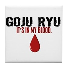 In My Blood (Goju Ryu) Tile Coaster