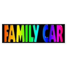 GLBT Rainbow Bumper Car Sticker