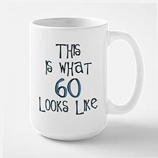 60th birthday, 60 looks like this Mug