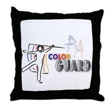 Unique Winter guard Throw Pillow