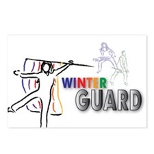 Winter Guard Sketch Postcards (Package of 8)