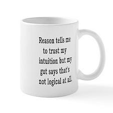 Logic vs Intuition Mug