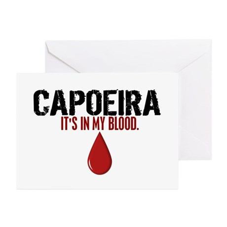 In My Blood (Capoeira) Greeting Cards (Pk of 10)