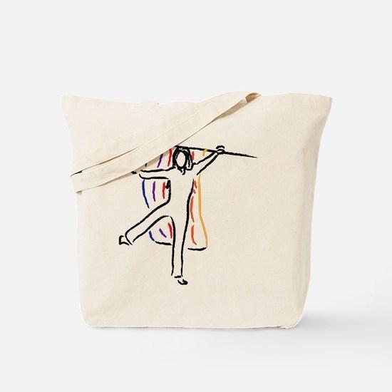 Funny Color guard Tote Bag