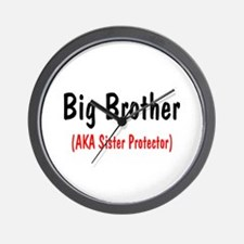 Big Brother (AKA Sister Protector) Wall Clock