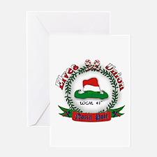 Elves Union Christmas Greeting Card