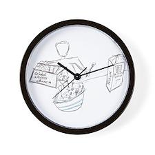global liquidity crunch Wall Clock