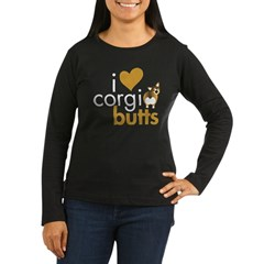 I Heart Corgi Butts - Sable T-Shirt