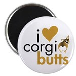I Heart Corgi Butts - Sable Magnet